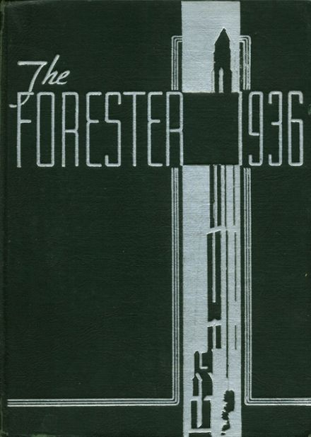 1936 Forest Park High School 406 Yearbook Cover