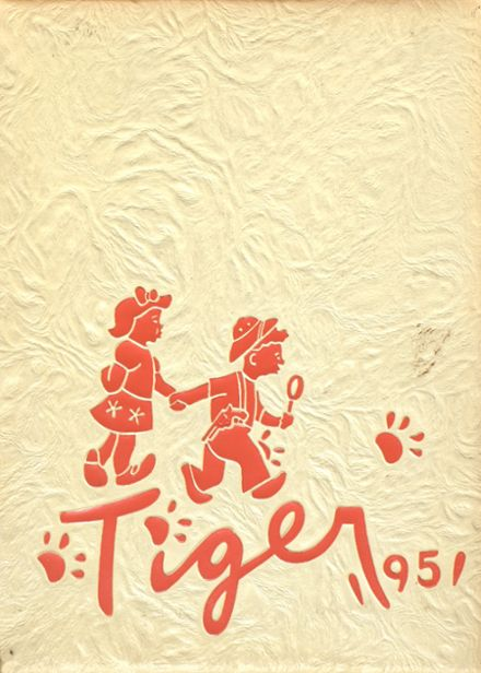 1951 Warsaw High School Yearbook Cover