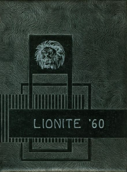 1960 Carterville Community High School Yearbook Cover
