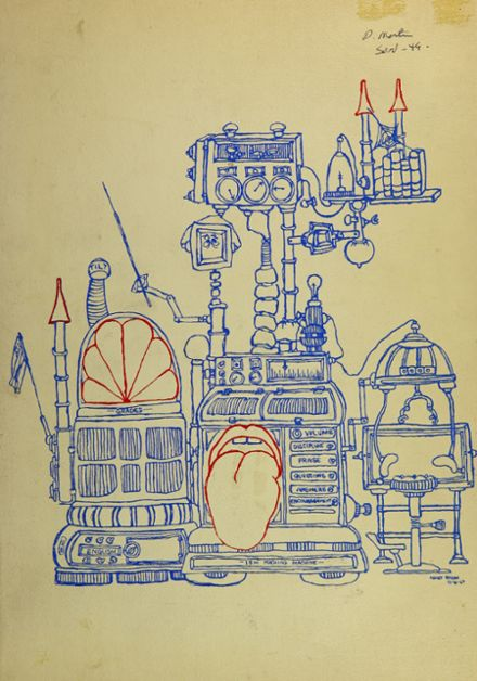 1970 Rexford High School Yearbook Cover