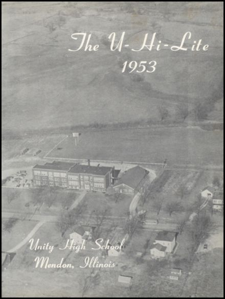 1953 Unity High School Yearbook Page 5
