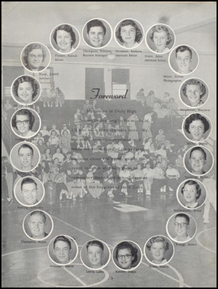 1953 Unity High School Yearbook Page 7