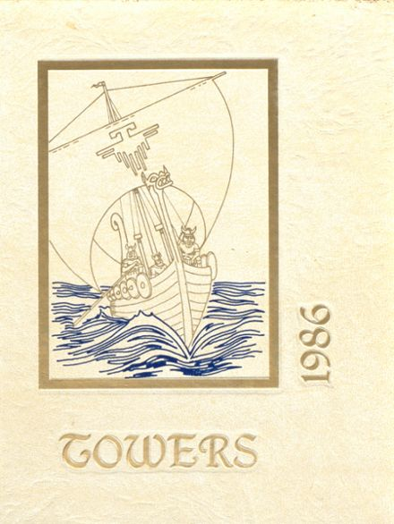 1986 Central Catholic High School Yearbook Cover