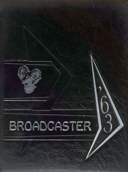 1963 Byckeye Local High School Yearbook Cover