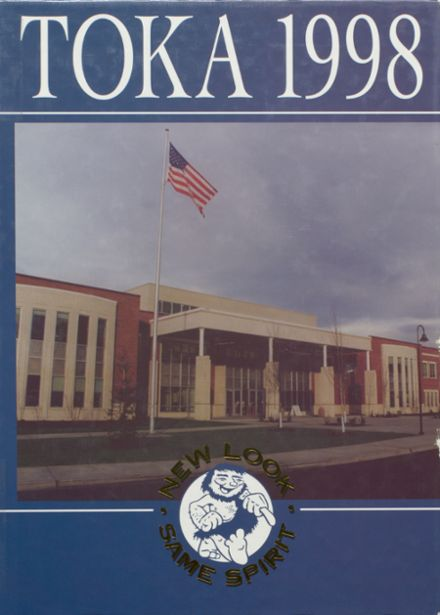 1998 Grants Pass High School Yearbook Cover