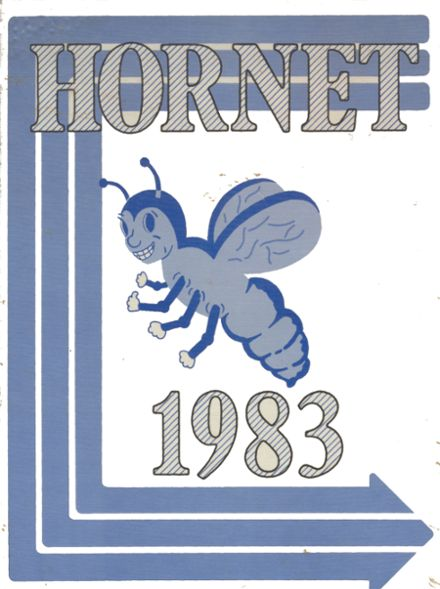 1983 Colcord High School Yearbook Cover