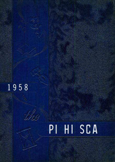 1958 Pittsboro High School Yearbook Cover