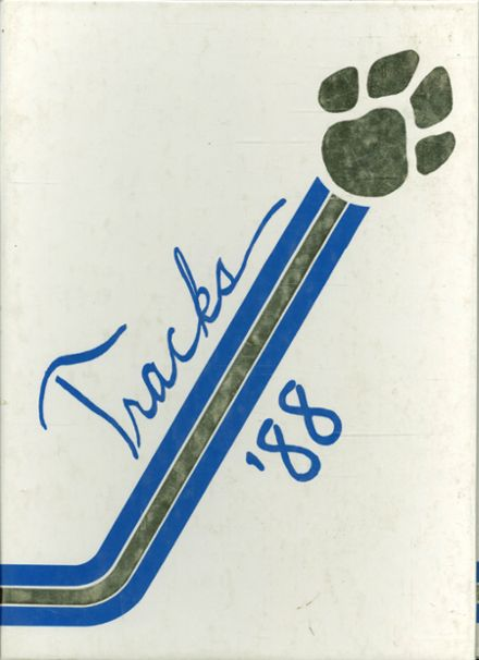 1988 Ford Central High School Yearbook Cover