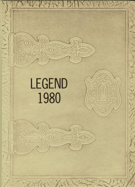 1980 Oakland Craig High School Yearbook Cover
