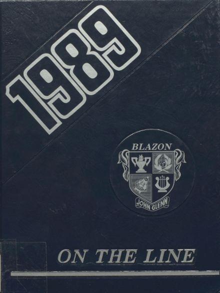 1989 John Glenn High School Yearbook Page 1