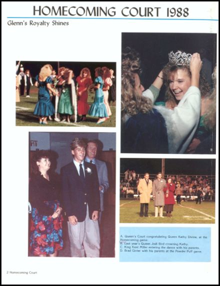 1989 John Glenn High School Yearbook Page 6