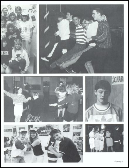 1989 John Glenn High School Yearbook Page 9