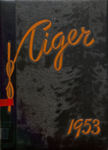 1953 Edwardsville High School Yearbook Cover