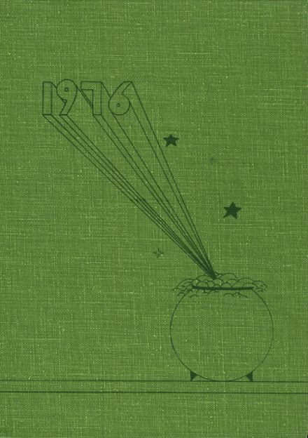 1976 Greenwich Central High School Yearbook Cover
