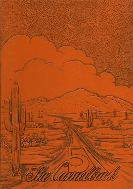 1951 Camelback High School Yearbook Cover