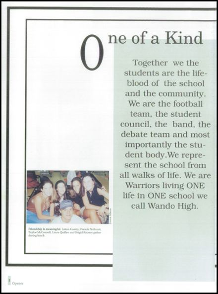 1996 Wando High School Yearbook Page 6