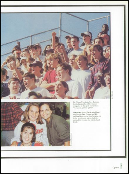 1996 Wando High School Yearbook Page 7
