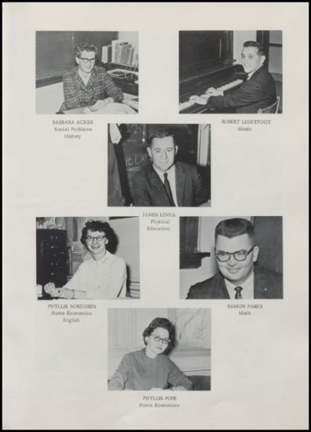 1964 Rib Lake High School Yearbook Page 9