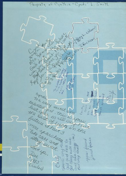 1980 Lyman High School Yearbook Page 2