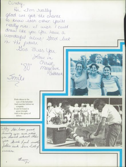 1980 Lyman High School Yearbook Page 8