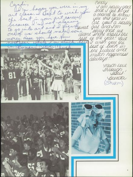 1980 Lyman High School Yearbook Page 9