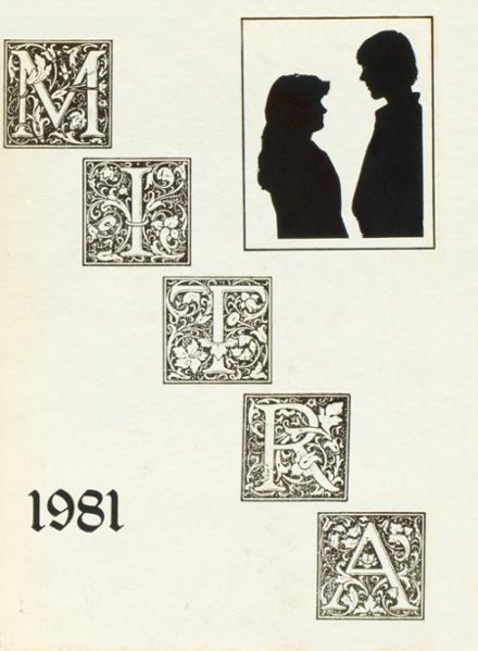 1981 Miami Trace High School Yearbook Cover