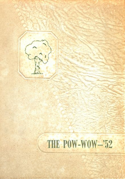 1952 Marked Tree High School Yearbook Cover