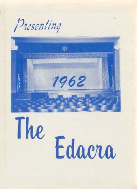 1962 Arcade Central High School Yearbook Cover