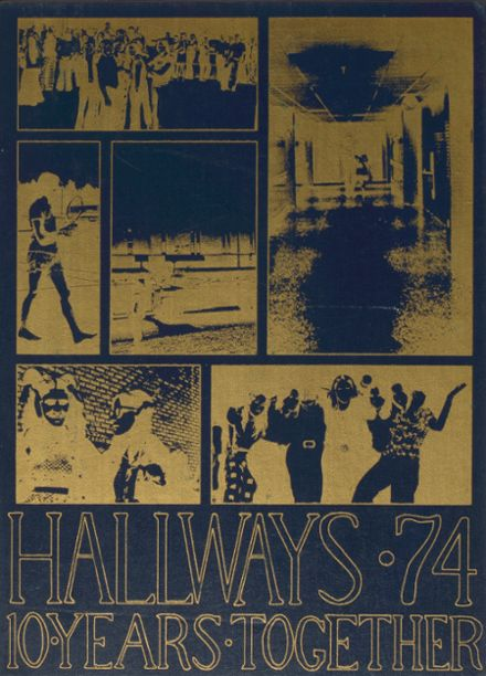 1974 Perry Hall High School Yearbook Cover