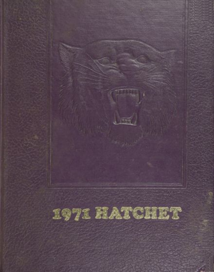 1971 Washington High School Yearbook Cover