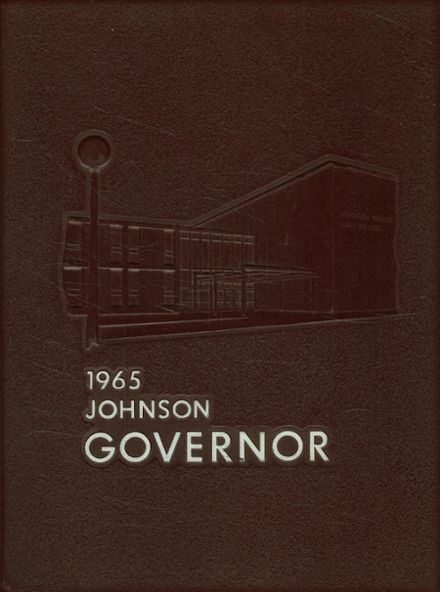 1965 Johnson High School Yearbook Cover
