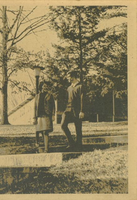 1969 Mt. Pisgah Academy Yearbook Cover