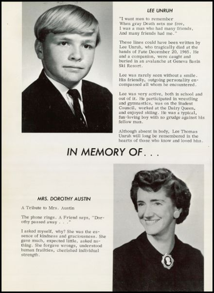 1966 Arvada High School Yearbook Page 6