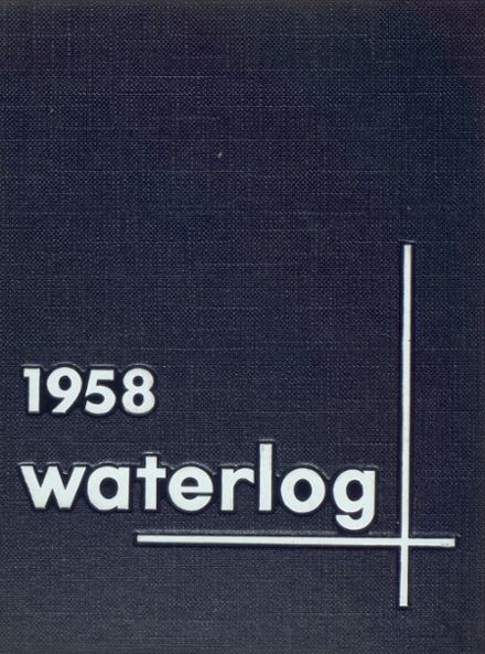 1958 Waterford Township High School Yearbook Cover
