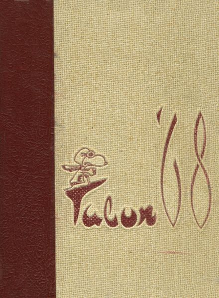 1968 Edison High School Yearbook Cover