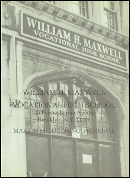1985 William H. Maxwell Vocational High School Yearbook Page 5