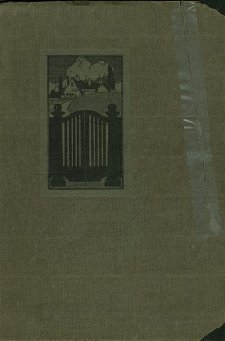 1921 Columbia High School Yearbook Cover