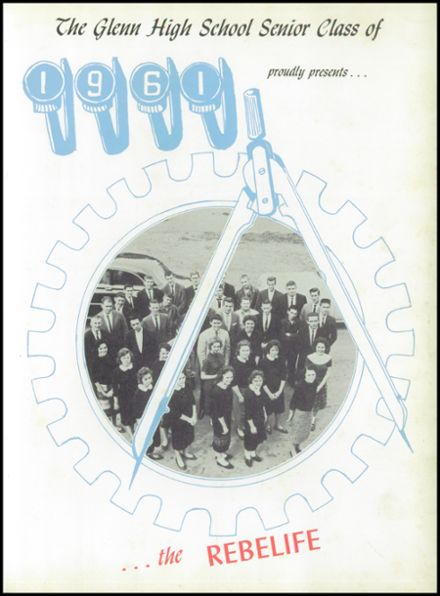 1961 Glenn High School Yearbook Page 5