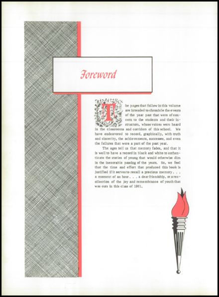 1961 Glenn High School Yearbook Page 6