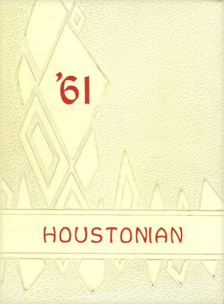 1961 Houston High School Yearbook Cover
