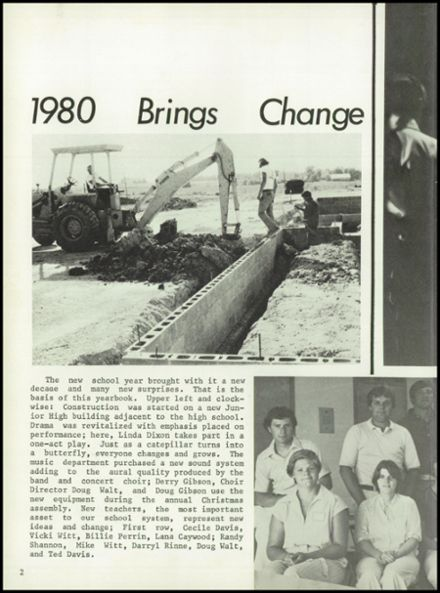1980 C1 High School Yearbook Page 6