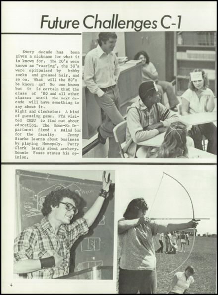 1980 C1 High School Yearbook Page 8