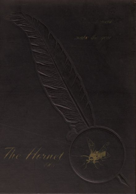 1967 Hume High School Yearbook Cover