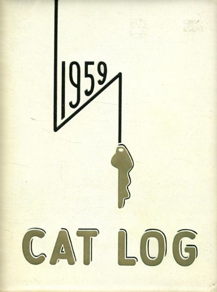 1959 West High School Yearbook Cover