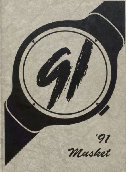 1991 Boonville High School Yearbook Cover