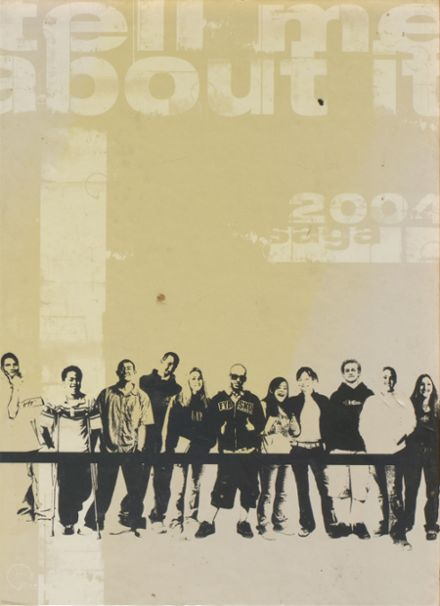 2004 John A. Rowland High School Yearbook Cover