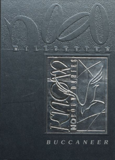 2000 Covington High School Yearbook Cover