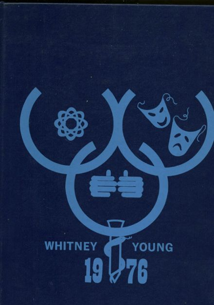 1976 Young Magnet High School Yearbook Cover