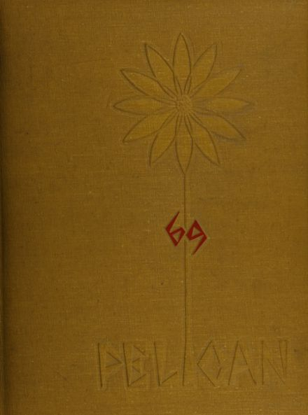 1969 St. James High School Yearbook Cover