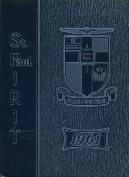 1961 St. Paul High School Yearbook Cover